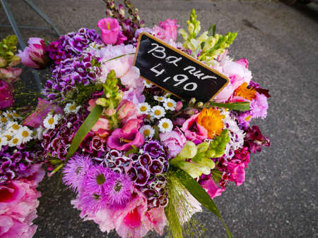 floristry: Flower bunches at floristry