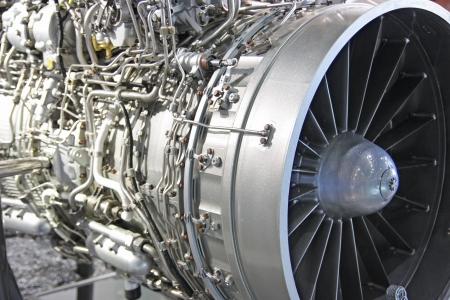 터보 제트 엔진의 상세한 노광 스톡 콘텐츠