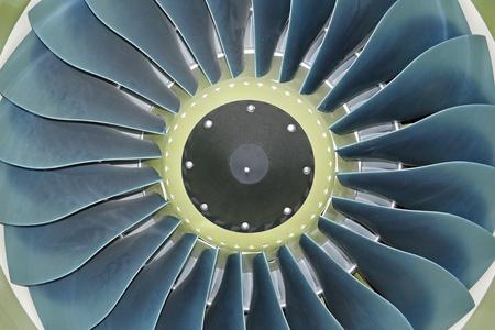 turbojet: Turbo-jet engine of the plane
