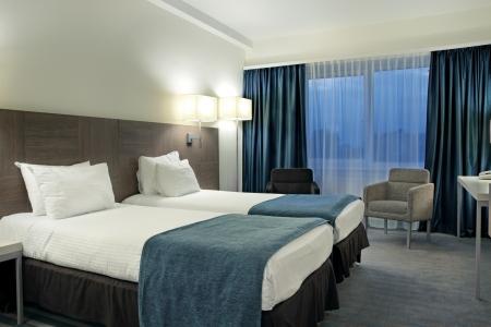 호텔 객실의 인테리어 클래스의 집 골키퍼 에디토리얼