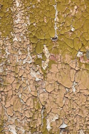 古い塗料の構造