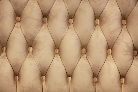 Leather upholstery of a magnificent sofa Stock Photo - 22064159