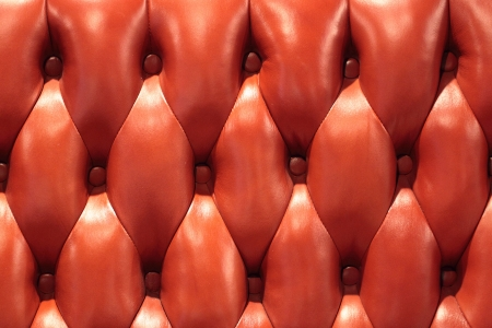 Leather upholstery of a magnificent sofa Stock Photo - 22064160
