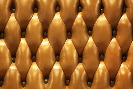 Leather upholstery of a magnificent sofa Stock Photo - 22035611