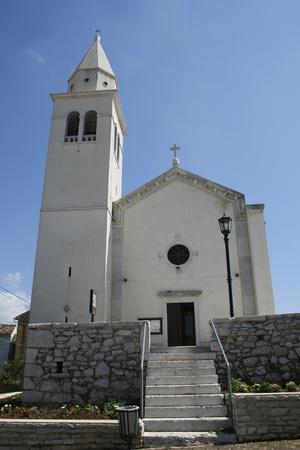 godlike: White Roman-Catholic church in the Croatian city