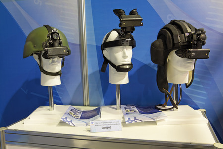 night vision: MOSCOW, RUSSIA - AUG 20: A night vision devices at the International Aviation and Space salon MAKS. Aug, 20, 2011 at Zhukovsky, Russia