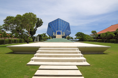 sanur: The Diamond Bali - wedding venue, an architectural construction in Indonesia on island Bali, town Sanur for carrying out of wedding ceremonies
