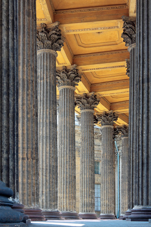The Colonnade of Kazan cathedral, St.-Petersburg, Russia photo