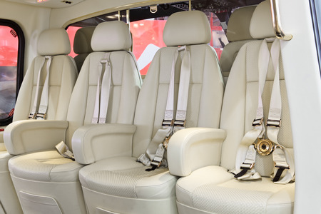 luxuriance: Salon of expensive helicopter class business