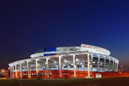 stadia: The modern stadium at night