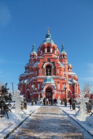 Temple of the Kazan icon of the Mother of God, Russia, Siberia, Irkutsk city