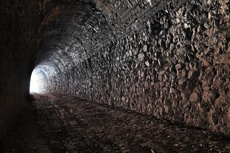 La lumière à l'extrémité du tunnel