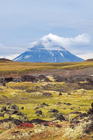 kamchatka: Vulcano spento, Estremo Oriente, Russia, Kamchatka