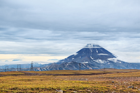 extinct: Extinct volcano, Far east, Russia, Kamchatka