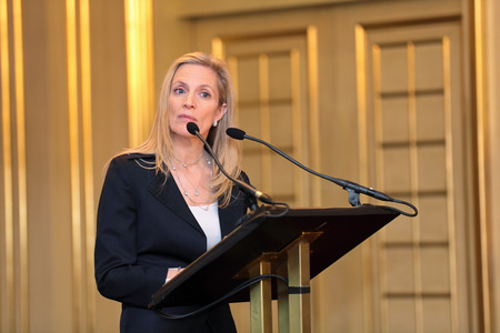ceos: MOSCOW, RUSSIA - FEB 15: Lael Brainard - Under Secretary of the Treasury at G20 Finance Ministers and Central Bank Governors Deputies Meeting on February, 15, 2013 in Ritz-Carlton Hotel, Moscow, Russia