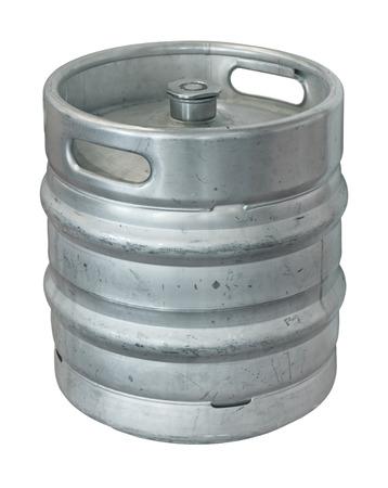 Beer keg, isolated on white