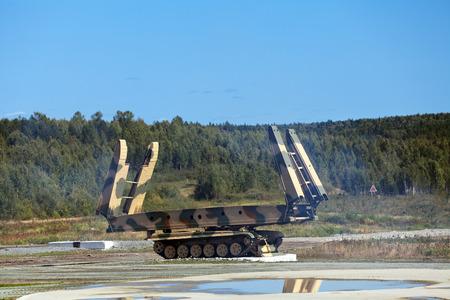 Armoured vehicle-launched bridge (AVLB) Stock Photo