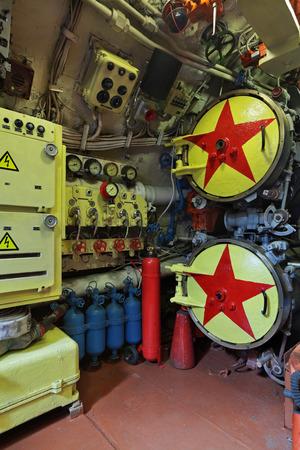 Torpedo tubes in the submarine Editorial