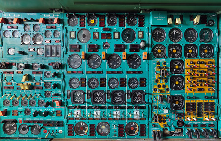 Remote control flight engineer of the old plane