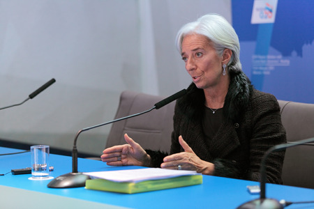 christine: MOSCOW, RUSSIA - FEB 16: Christine Madeleine Odette Lagarde, Managing Director (MD) of the International Monetary Fund (IMF) at a press-conference dedicated to the upcoming summit G20 on February, 16, 2013 in Moscow, Russia