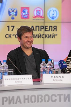 モスクワ - 10 年 4 月: アレク...