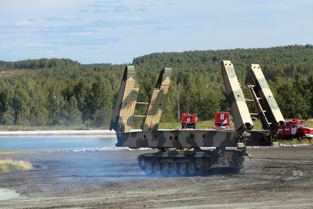 bridged: Armoured vehicle-launched bridge (AVLB) Editorial