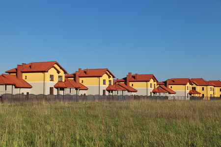 dwelling: The construction of similar countryside cottages