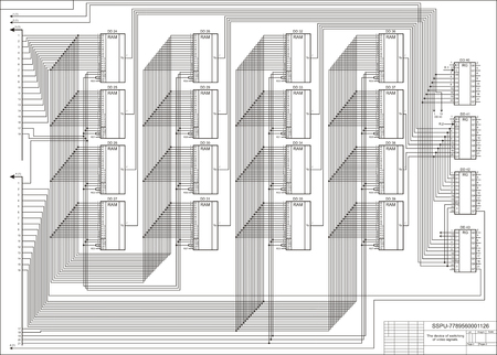 basic scheme: The drawing, the scheme the electric basic Stock Photo
