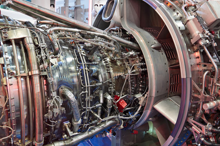 Exposition détaillée d'un turboréacteur