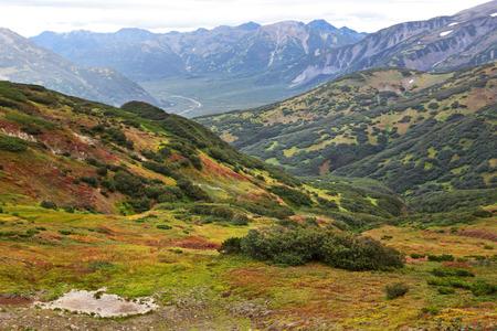 far east: Extremo Oriente, Rusia, Kamchatka, paisaje de montaña