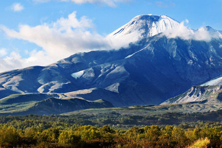 far east: Extremo Oriente, Rusia, Kamchatka paisaje