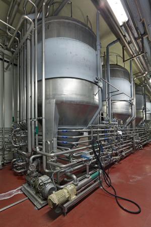 production Brewing - département de fermentation, l'intérieur de la brasserie, personne