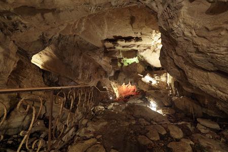 Vorontsovskaya cave system - the system of caves, located on the Vorontsov ridge in the Khosta and Adler districts of Sochi, Krasnodar Krai, Russia Stock Photo
