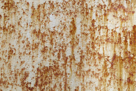 corrosion: Texture of the old painted metal corrosion