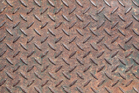 metal structure: Texture of old corrugated metal Stock Photo