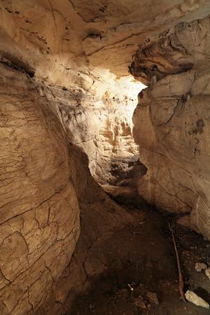 vorontsov: Vorontsovskaya cave system - the system of caves, located on the Vorontsov ridge in the Khosta and Adler districts of Sochi, Krasnodar Krai, Russia Stock Photo