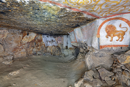 dungeon: Sianowska quarries - abandoned dungeon in the Moscow region, Domodedovsky District, which was extraction limestone from the 17th to the 19th century. Underground temple