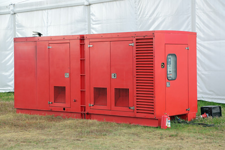 A small diesel emergency power plant, nobody
