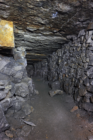sombre: Sianowska quarries - abandoned dungeon in the Moscow region, Domodedovsky District, which was extraction limestone from the 17th to the 19th century
