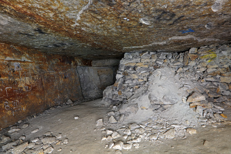 dungeon: Sianowska quarries - abandoned dungeon in the Moscow region, Domodedovsky District, which was extraction limestone from the 17th to the 19th century
