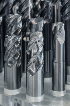 carbide: Set of carbide cutters, close-up
