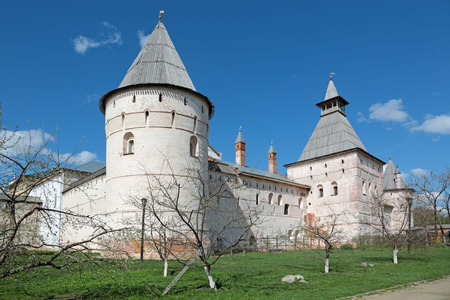 Yaroslavl oblast, city of Rostov Veliky (Golden Ring). Towers of the Rostov Kremlin