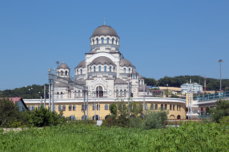 The Temple Not Made By Hands Image Of Christ The Savior, Sochi, Russia