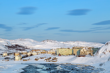 habitable: The village of Teriberka, Murmansk oblast, Kola Peninsula, Russia