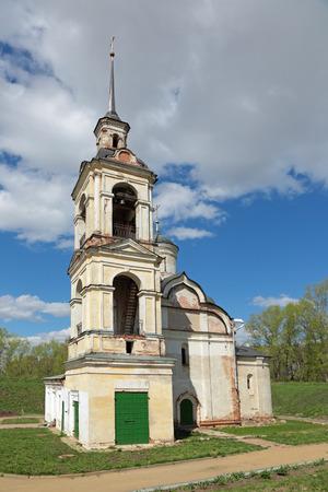 the ascension: Church of the Ascension, 1566. The city of Rostov, Yaroslavl oblast, Russia.