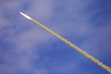 anti war: The flight of the missile defense complex