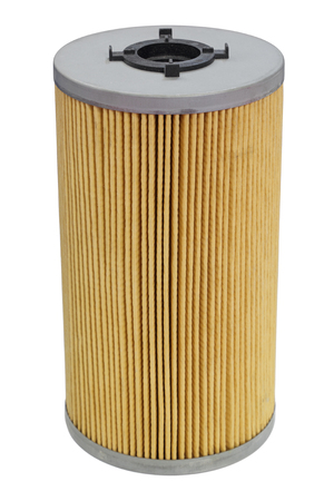 Internal combustion engine oil filter, isolated on white background 스톡 콘텐츠 - 119361688