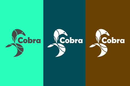 Combination logo between cobra and foxy