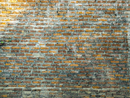 Wall made of brick blocks. Stok Fotoğraf