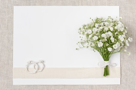 Wedding decor of natural environmental materials